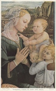 AS: Madonna, Child, St. John and Angel, 1900-10s