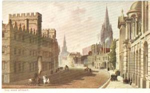 Oxford The High Street, early 1900s unused Postcard