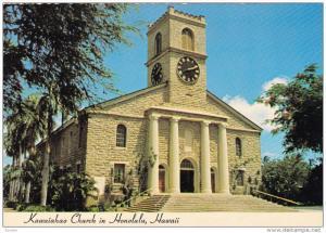 Kawaiahao Church, HONOLULU, Hawaii, 50-70´s