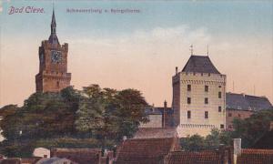 Bad Cleve , Germany , 00-10s ; Schwanenburg u. Spiegelturm