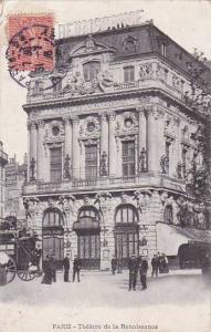 France Paris Theatre de la Renaissance 1906