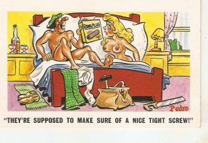 Pedro. hey are supposed to make sure.. Humorous saucy English seaside comic PC