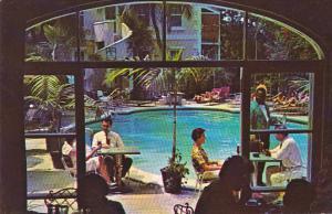 Bahamas Nassau Royal Victoria Hotel Indoor Outdoor Dining Restaurant and Pool