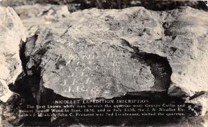 D99/ Nicollet Minnesota Mn Real Photo RPPC Postcard 1948 Expedition Inscription