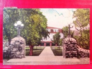Postcard VA Harrisonburg Massanetta Springs Station Bible Conferences