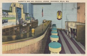 WISCONSIN DELLS, Wisconsin, 1950; Barrett's Bar and Cocktail Lounge