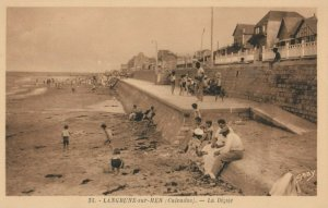 LANGRUNE-sur-MER (Calvados) , France , 1900-1910´s ; La Digue