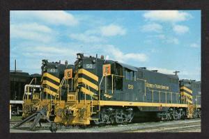 OH Detroit & TOLEDO Shore Line Railroad Train OHIO PC