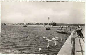 Dorset; The Quay, Mudeford RP PPC By Sun-Ray, 1971, To W Procter, Tillingham