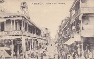 PORT SAID.-Street of the Commerce , EGYPT, 00-10s