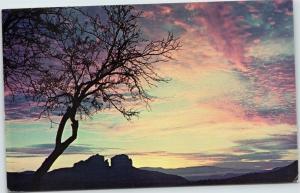 Sunset in Oak Creek Canyon Arizona