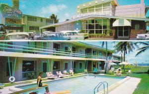 Sea Isle Apartment Motel Pool Pompano Beach Florida