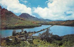 Menehune Fish Pond, Kauai, Hawaii HI