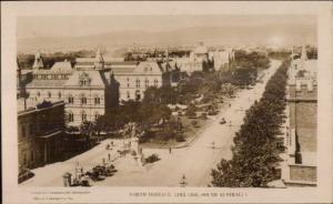 Adelaide South Australia North Terrace 1925 Real Photo Postcard