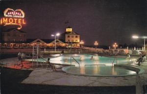 QUEBEC, Canada, PU-1975; Motel Auberge Du Blvd. Laurier Inc., Swimming Pool