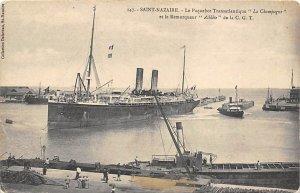 La Champagne French Line Ship 1908
