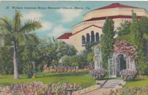 Florida Miami William Jennings Bryan Memorial Church