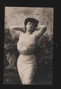074351 GLAMOUR Plump Lady BELLE DANCER Vintage PHOTO