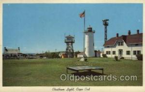 Chatham light, Cape cod, Mass, USA Massachusetts USA, Light House, Houses Lig...