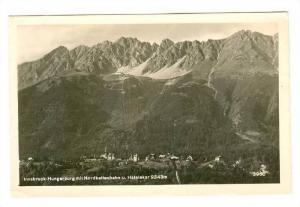 RP, Hungerburg Mit Nordkettenbahn U. Hafelekar 2343m., Innsbruck, Austria, 19...