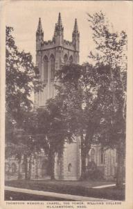 Thompson Memorial Chapel The Tower Williams College Wliliamstown Massachusett...