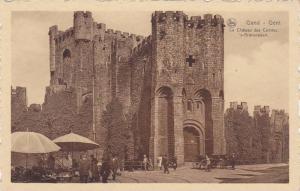 Le Chateau Des Comtes, 's-Gravensteen, Gent (East Flanders), Belgium, 1910-1920s