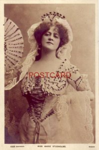 MARIE STUDHOLME English actress/singer One of the most popular postcard beauties