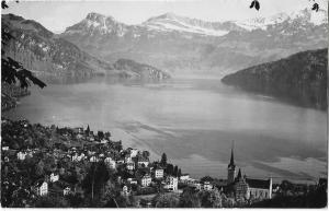 Switzerland Weggis RPPC 01.19