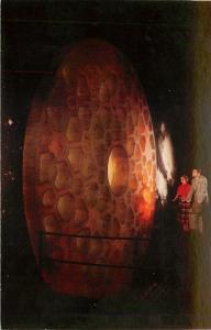 Corning New York~Telescopic Disk Corning Glass Center~1950 Postcard