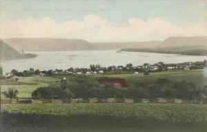 LIVERPOOL ,Pennsylvania , PU-1909; Scenic View from the Bluff
