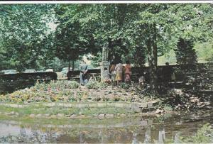 Little Flower Island, Martyr's Shrine, Ontario,  Canada,   PU-1977