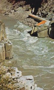 Hell's Gate Fishway,  Fraser Canyon,   B.C.,  Canada,  40-60s