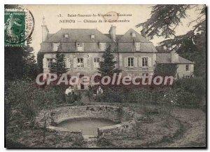 Postcard Old St Sauveur le Vicomte Chateau Surroundings of Nehou Grimonniere
