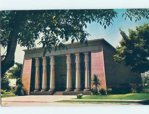 Unused Pre-1980 CHURCH SCENE San Jose California CA A6291
