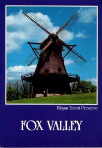 Illinois Geneva Fabyan Forest Preserve Dutch Windmill