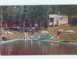 Unused Pre-1980 COTTAGE SCENE Adirondacks - Lake Placid New York NY c2445
