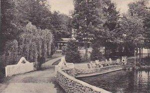 Pennsylvania Mill Rift The Glenwood From Wishing Bridge Albertype