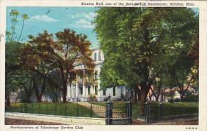 Mississippi Natchez Stanton Hall Built 1851 Curteich