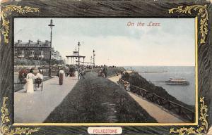 Folkestone, On the Leas, fancy animated 1913