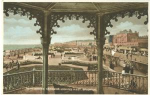 New Marine Gardens, Looking West, Brighton, early 1900s