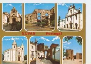 Postal 025580 : Motivos de Interesse Turisticos. Elvas (Portugal)