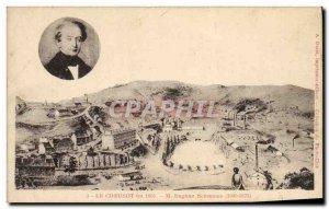 Old Postcard Le Creusot in 1851 Eugene M Schneider