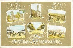 VINTAGE POSTCARD: AUSTRALIA  - Toowoomba 1905