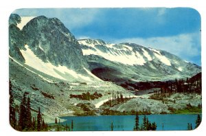 WY - Medicine Bow National Forest. Lake Marie & Snowy Range