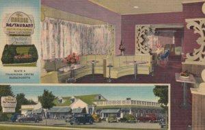 FRAMINGHAM CENTRE, Massachusetts, 1949; The Maridor Restaurant, 2-views