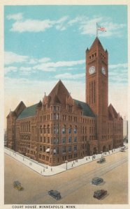 MINNEAPOLIS, Minnesota, 1900-10s; Court House
