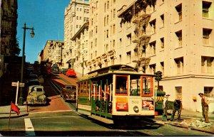 California San Francisco Cable Car #501 1957