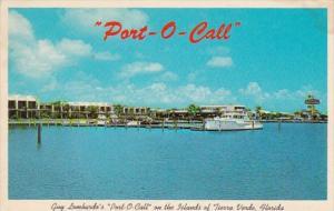 Florida Tierra Verde Guy Lombardo's Port Of Call 1968