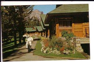 Bicycle Room Service, Jasper Park Lodge, Alberta,