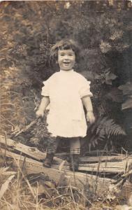 F31/ Coeur d' Alene Washington RPPC Postcard Madeline Marx Baby